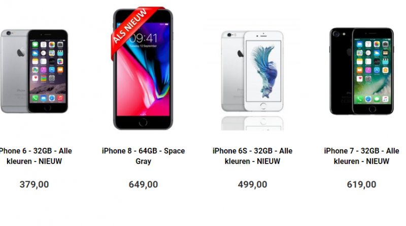 Refurbished iPhones kopen