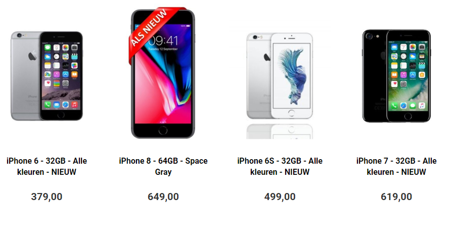 Refurbished iPhones kopen
